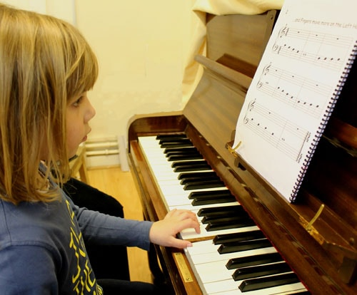 """Piano with Singing"" lesson in our sites"